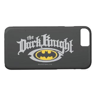 Batman Dark Knight | Name and Oval Logo iPhone 7 Case