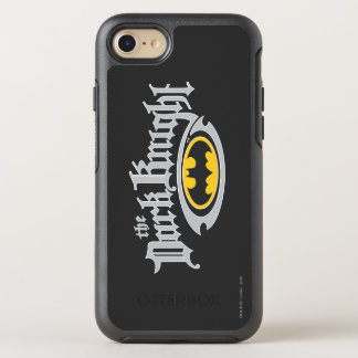 Batman Dark Knight | Name and Oval Logo OtterBox Symmetry iPhone 8/7 Case