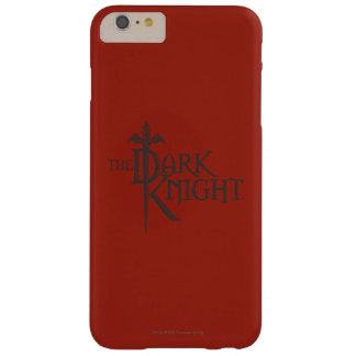 Batman Dark Knight | Name Brown Logo Barely There iPhone 6 Plus Case