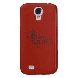 Batman Dark Knight | Name Brown Logo Galaxy S4 Case