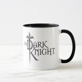 Batman Dark Knight | Name Brown Logo Mug