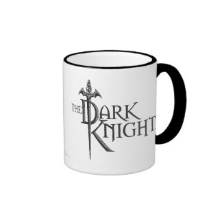 Batman Dark Knight | Name Brown Logo Ringer Mug