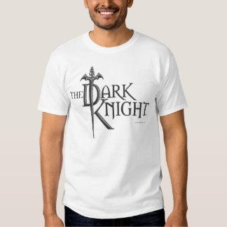 Batman Dark Knight   Name Brown Logo Shirt