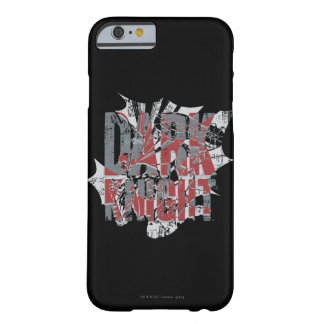 Batman Dark Knight   Name Red Grey Logo Barely There iPhone 6 Case