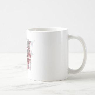 Batman Dark Knight | Name Red Grey Logo Basic White Mug