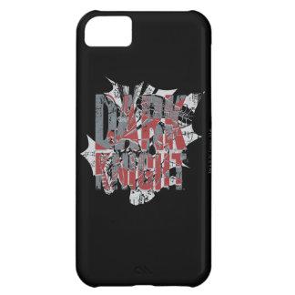 Batman Dark Knight   Name Red Grey Logo iPhone 5C Case
