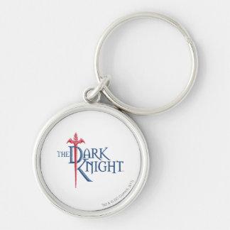 Batman Dark Knight | Name Red Sword Logo Key Ring