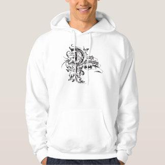 Batman Dark Knight | Ornate Logo Hooded Sweatshirts