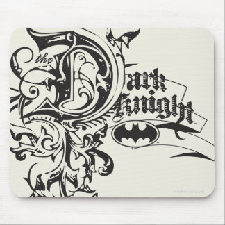 Batman Dark Knight | Ornate Logo Mouse Pad
