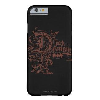 Batman Dark Knight | Urban Brown Logo Barely There iPhone 6 Case