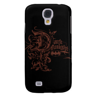 Batman Dark Knight | Urban Brown Logo Galaxy S4 Case