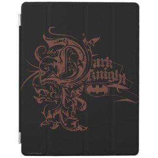 Batman Dark Knight   Urban Brown Logo iPad Cover
