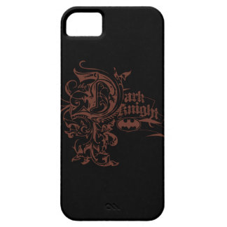 Batman Dark Knight | Urban Brown Logo iPhone 5 Case