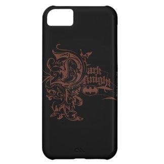 Batman Dark Knight | Urban Brown Logo iPhone 5C Case