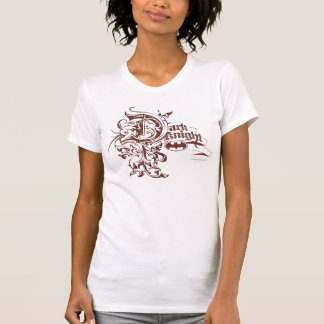 Batman Dark Knight | Urban Brown Logo Tee Shirts