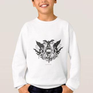 Batman Dark Knight | Various Bats Logo Sweatshirt