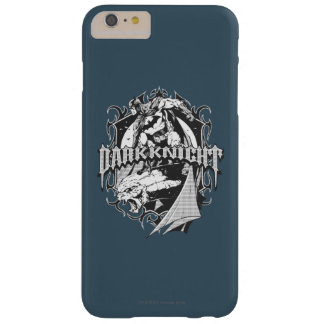 Batman Dark Knight | White Grey Outline Logo Barely There iPhone 6 Plus Case