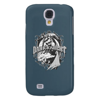 Batman Dark Knight | White Grey Outline Logo Galaxy S4 Case