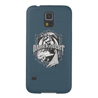 Batman Dark Knight | White Grey Outline Logo Galaxy S5 Cases