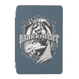 Batman Dark Knight   White Grey Outline Logo iPad Mini Cover