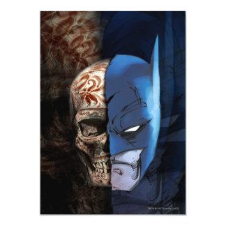 Batman de los Muertos 13 Cm X 18 Cm Invitation Card