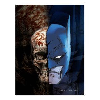 Batman de los Muertos Postcard