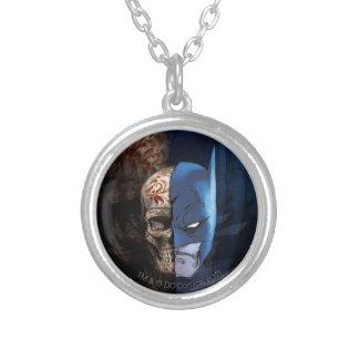 Batman de los Muertos Silver Plated Necklace
