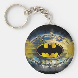 Batman Decorated Logo Key Ring