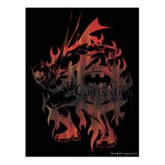 Batman Design 18 Postcard