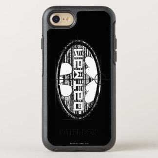 Batman | Draft Logo OtterBox Symmetry iPhone 8/7 Case