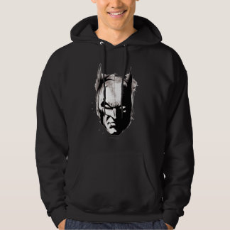 Batman Drawn Face Hoodie