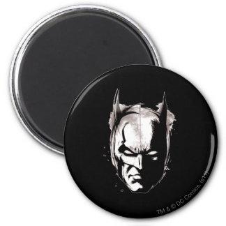 Batman Drawn Face Magnet