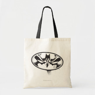 Batman Drip Logo Tote Bag