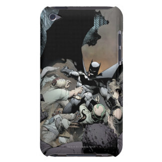 Batman Fighting Arch Enemies Barely There iPod Covers