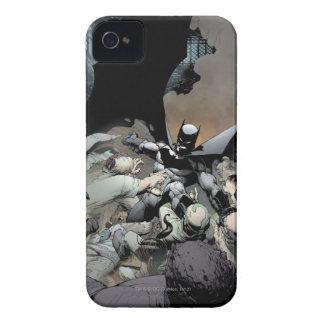 Batman Fighting Arch Enemies iPhone 4 Cover