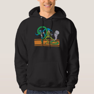 Batman Fights Riddler Hoodie