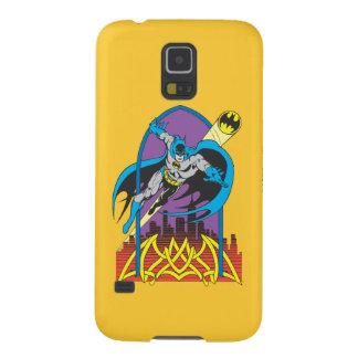 Batman Flies Thru the Night Galaxy S5 Cover