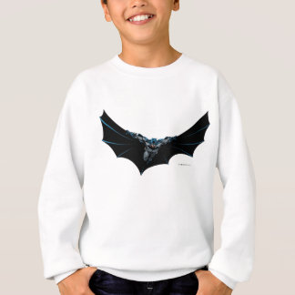 Batman flys with large cape sweatshirt