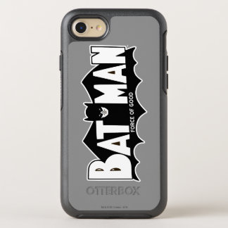 Batman | Force of Good 60s Logo OtterBox Symmetry iPhone 8/7 Case