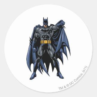 Batman Full-Color Front Round Sticker