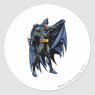 Batman Full-Color Side Round Sticker