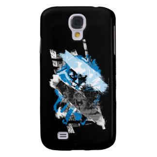 Batman Future Cityscape Montage Galaxy S4 Case