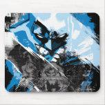 Batman Future Cityscape Montage Mouse Pads