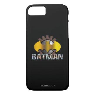 Batman | Gear Background Logo iPhone 8/7 Case