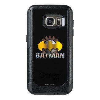 Batman   Gear Background Logo OtterBox Samsung Galaxy S7 Case