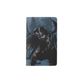 Batman Gotham City Paint Drip Graphic Pocket Moleskine Notebook
