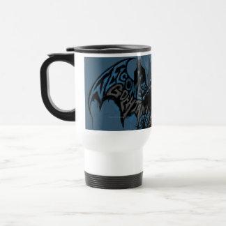 Batman Gotham City Paint Drip Graphic Travel Mug
