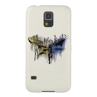 Batman Gotham City's Finest Airbrushed Galaxy S5 Case