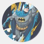 Batman Gotham Guardian Round Sticker