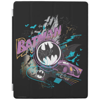 Batman Gotham Skyline Sketch iPad Cover